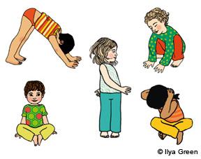 Relaxation   cinq exercices d initiation au yoga pour les enfants 97086343510