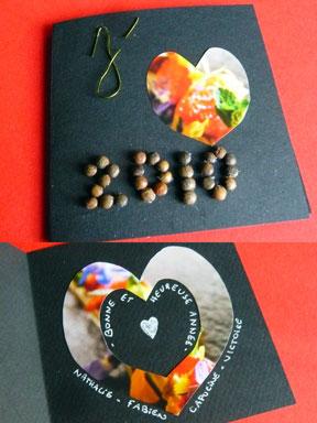 Jeune Bricolage en famille : des cartes de vœux à fabriquer avec les enfants ZX-83