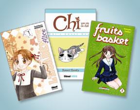 livre manga pour fille 12 ans