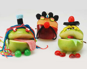 Apple monsters - Monstres pommes