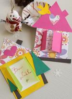 Activit bricolage des cartes de v ux faciles faire - Bricolage a la maison ...
