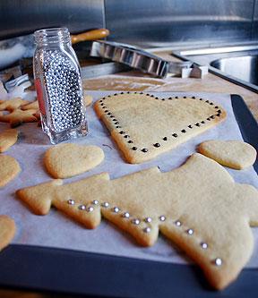 comment décorer les biscuits de noel