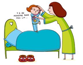 Que faire pour rassurer un enfant qui dort mal - Mon bebe ne veut pas dormir dans son lit ...