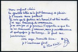 Carte postale envoyée par La Poste aux enfants de France de 1962à 1965, texte de Françoise Dolto, dessin de René Chag
