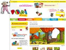 Consulter le site du magazine Popi