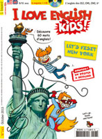 Couverture du magazine I Love English for Kids - Octobre 2013