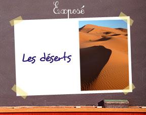 Expose_deserts